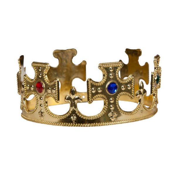 King/Queen Gold Crown